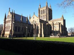 """<b>Paul Smith</b> on Twitter: """"Hereford Cathedral in bright <b>sunshine</b> this ..."""