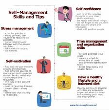 self management skills list definition tips techniques
