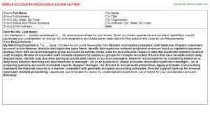 accounts receivable analyst resume resume cover letter accounts receivable analyst cover letter