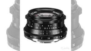 <b>Объектив 7Artisans</b> 35mm F1.2 <b>X Mount</b> Чёрный купить в Москве ...