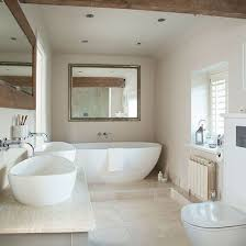 ideas bathroom tile color cream neutral: after traditional bathroom decorating ideas take a look at this neutral bathroom with beautiful tiles from ideal home for inspiration