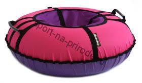 <b>Тюбинг Hubster Ринг Хайп</b> розовый-фиолетовый 90 см