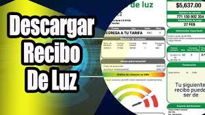 Descargar Recibo de Luz Bien Explicado 2018 - YouTube