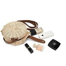 <b>2018</b> Women <b>Straw Bag Bohemian</b> Bali Round <b>Straw</b> Rattan <b>Bag</b> ...