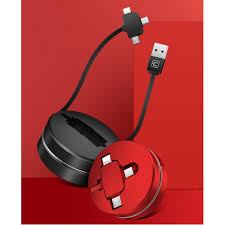 (USB - <b>Lightning</b>/<b>MicroUSB</b>/<b>Type</b>-<b>C</b>) 1м