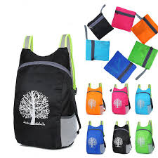 Hiking <b>Folding Backpack Hot Unisex</b> Camping <b>Bag</b> Ultra Light ...