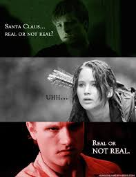 Santa Claus... Real or not Real? The Hunger Games | The Hunger ... via Relatably.com