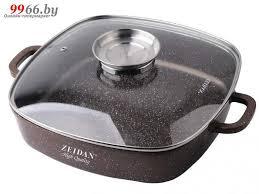 <b>Кастрюля</b>-жаровня <b>Zeidan</b> 4.5L 28x28cm <b>Z</b>-50313 купить в Минске ...