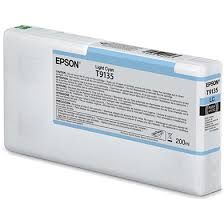 <b>Epson</b> C13T913500 <b>T9135 Light</b> Cyan Ink Cartridge (200ml)