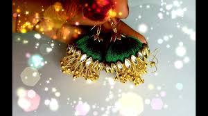 <b>New</b> modal jhumka with <b>tassels</b>// silk thread <b>earrings</b> latest model ...