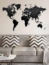Деревянная <b>карта</b> мира <b>Wall Decoration</b> 130x78 cm <b>MiMi</b> ...