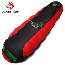 <b>Jungle King 2017</b> Thickening Fill Four Holes Cotton Sleeping Bags ...