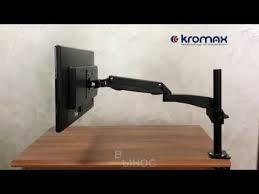 Настольный <b>кронштейн для мониторов KROMAX</b> OFFICE-11 ...