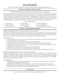 Project Management Objective Resume  operations manager resume