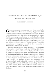 george mcclelland foster jr    biographical memoirs  volume     page
