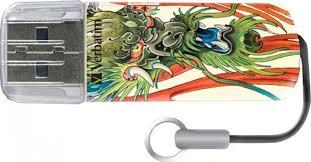 USB <b>Флеш</b>-<b>накопитель Verbatim</b> 32Gb Mini Tattoo Dragon 49899 ...