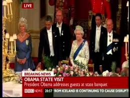 Queen humiliates President Obama at Buckingham Palace by ...