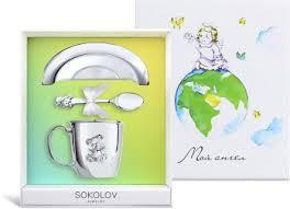 <b>Подарочный набор</b> ''Мишка'' <b>SOKOLOV</b> 24036_s — купить в ...
