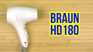 Распаковка <b>BRAUN HD 180</b> - YouTube