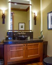 arts crafts bathroom vanity: bathroom vanities without tops powder room craftsman with arts and crafts bathroom arts and crafts