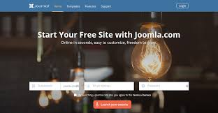 good news create your joomla hosted website in 30 seconds