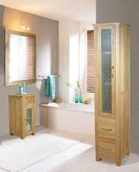 bonsoni mobel oak closed bathroom unit tall bonsoni mobel oak hideaway