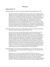 final annotated bibliography nazi nazi party