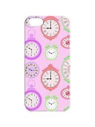 """Чехол для iPhone 5/5s """"Цветные часики"""" Chocopony 3122512 в ..."""
