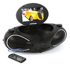 gpx bdb portable inch dvd cd player mp usb radio boom box gpx bd702b portable dvd cd player am fm radio boombox