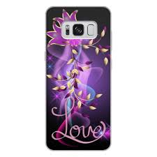 Чехол для Samsung Galaxy S8 Plus, объёмная печать <b>ЛЮБОВЬ</b> ...