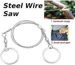 <b>Portable</b> Multifunctional Life Chain Saw Blade <b>Stainless Steel Wire</b> ...