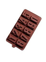 <b>Форма для льда</b> и шоколада Цифры, <b>20</b>*11 см, 10 ячеек ...