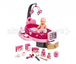 <b>Smoby</b> Набор по уходу за куклой <b>Baby Nurse</b> свет звук 22 ...