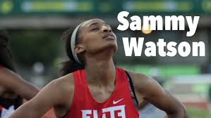 sammy watson girls m winner pre classic interview sammy watson girls 400m winner pre classic interview