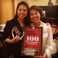 seattle business honors 100 best companies to work for 2014 evergreen beauty college top companies to work for