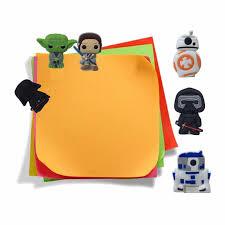 <b>5pcs Cartoon</b> PVC Paper <b>Clips</b> Star Wars Bookmarks School Office ...