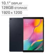 "<b>Samsung Galaxy Tab</b> A 10.1"" Wi-Fi Tablet 128GB - Black"