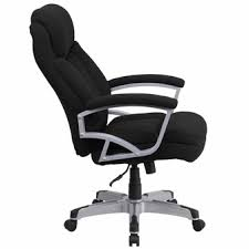 capacity big tall black fabric executive swivel office chair go 1850 1 fab gg big office chairs big tall