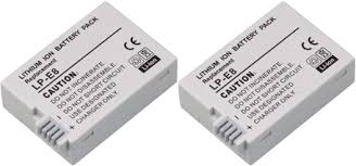 Replacement Battery For <b>Canon LP-E8</b> (2 Pack) - Walmart.com ...