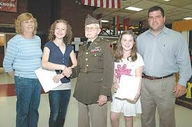 the day   what memorial day means to me walsh essay winners  by pam johnson sound senior staff writer as part of branfords memorial day