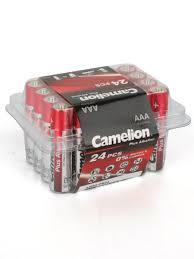 <b>Батарейки</b> LR03-PB24, ААА, 24шт. <b>Camelion</b> 8148314 в интернет ...