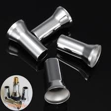 4 pcs chrome motorcycle head bolts covers spark plugs side case for harley twin cam 1999 later sportster xl883 xl1200 1986 up