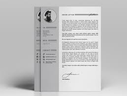 ya resume letter portfolio on behance a4 letter ai and psd file ready full editable