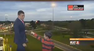 Watch: Kid crashes live weather forecast, predicts farts and toots ...