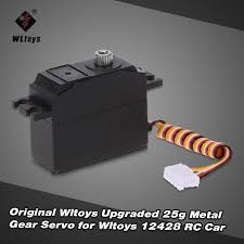 Wltoys Upgraded 25g Metal Gear Servo for <b>Wltoys 12428 RC</b> Car ...