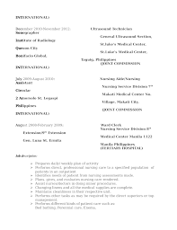 sonogram technician resume   sales   technician   lewesmrsample resume  professional ultrasound technician resume page