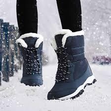 Женские ботинки; теплые зимние ботинки на <b>меху</b>; модная ...