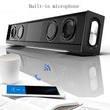 Detail Feedback Questions about TV Sound Bar Portable boombox ...