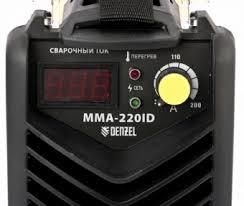 <b>Сварочный инвертор DENZEL</b> ММА-220ID (94348) купить в ...