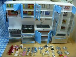 modern comfort barbie kitchen re ment cabinet size dollhouse furniture lightable ebay barbie doll house furniture sets
